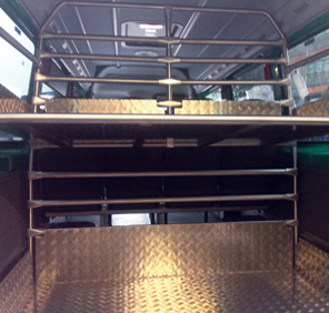 Bus Luggage Racks