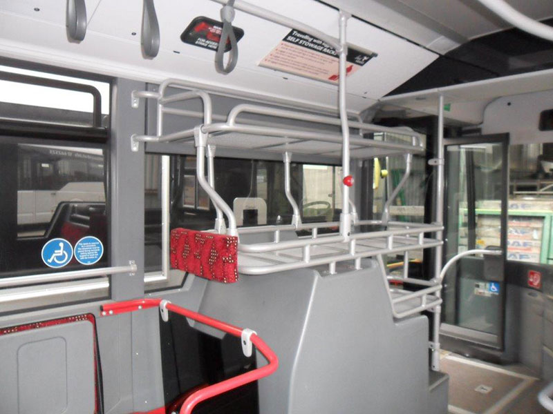 Passenger transport handrail kits and refurbishment